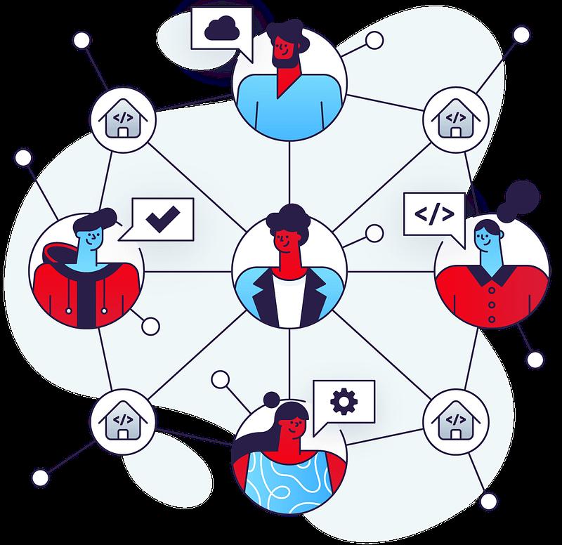 POLANDEVS Illustration - Association of Software Developers
