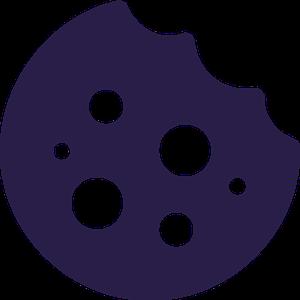 cookie icon black
